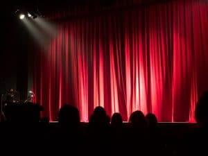Teatralna widownia