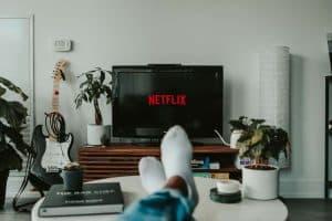 Relaks przy Netflixie