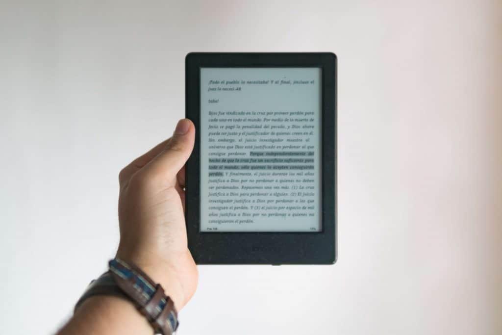 Ebook na ekranie urządzenia