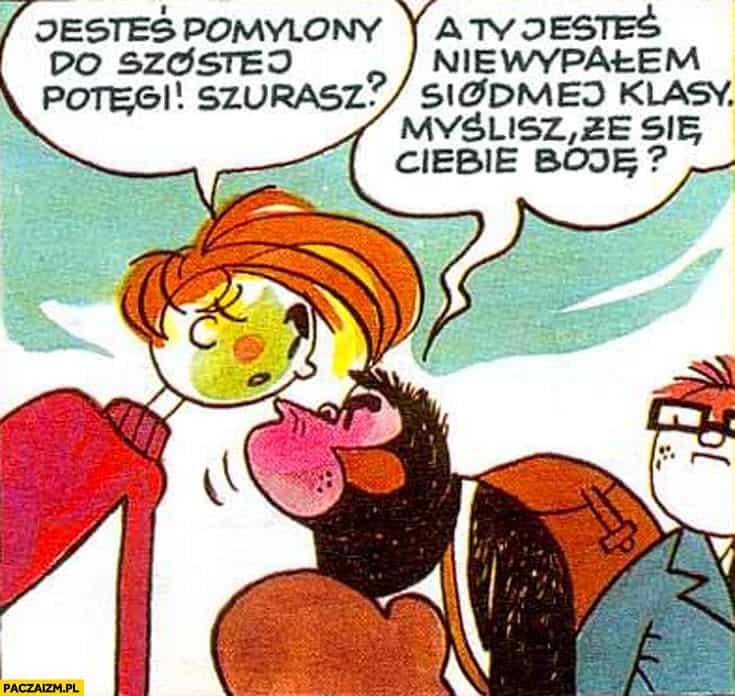 Kadr z komiksu Papcia Chmiela