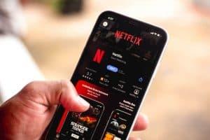 Aplikacja Netflixa na telefonie