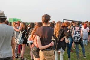 Publiczność Open'er Festivalu