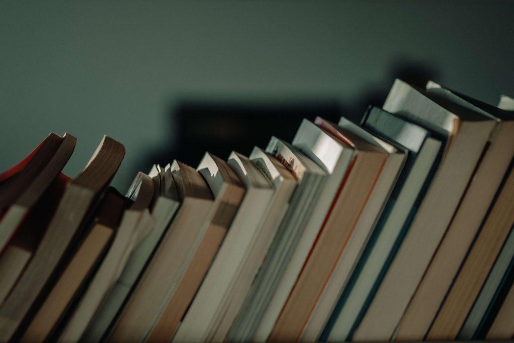 Szereg książek