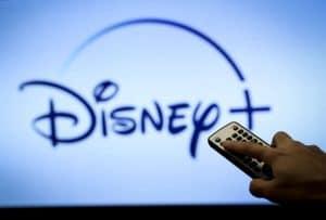 Logo platformy Disney +