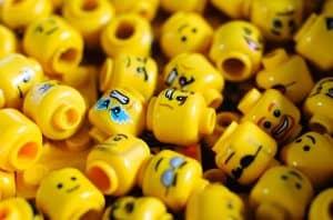 Głowy ludzików LEGO