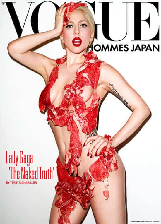 Lady Gaga na okładce Vogue